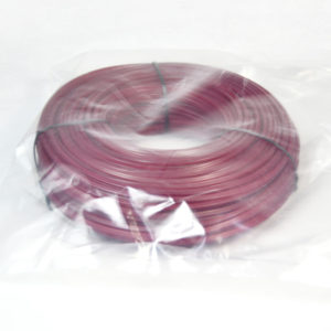Donut with bag-purple color round trimmer line