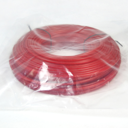 Donut with bag-red color round trimmer line