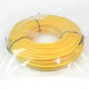 Donut with bag-yellow color round trimmer line