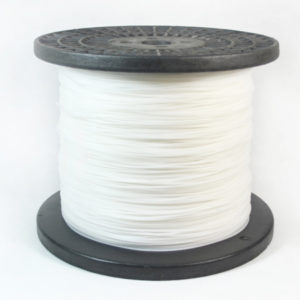 Spool-white color round trimmer line