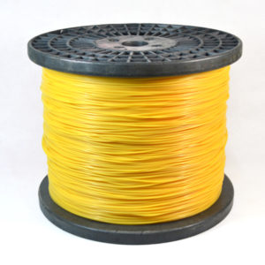 Spool-yellow color round trimmer line