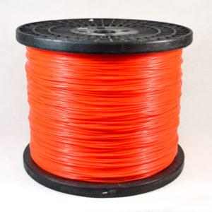Spool-orange color Twisted trimmer line