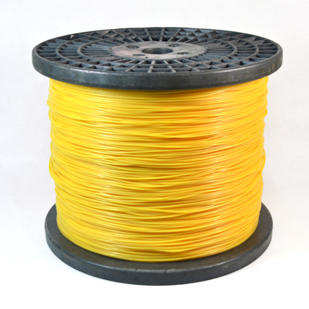 Spool-yellow color Twisted trimmer line