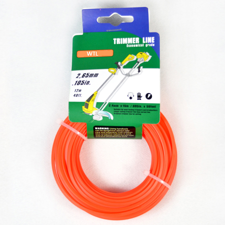Donut with Hang Tag-orange color Round Trimmer Line