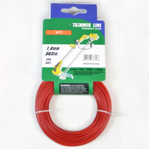 Donut with Hang Tag-red color Round Trimmer Line