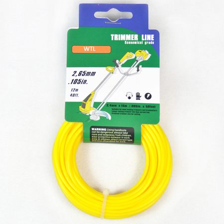 Donut with Hang Tag-yellow color Round Trimmer Line