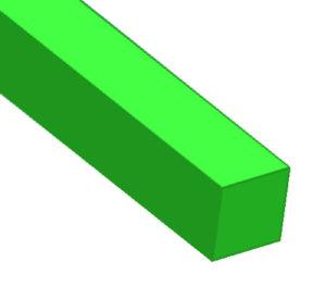 Square trimmer line