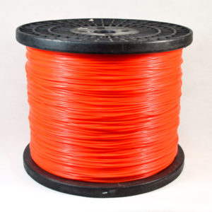 Spool-orange color round trimmer line