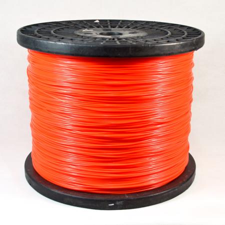Spool-orange color round trimmer line