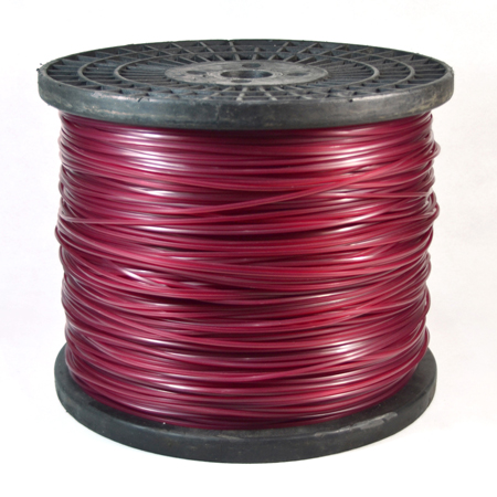 Spool-purple color round trimmer line