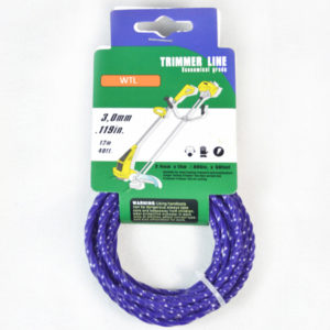 Donut with Hang Tag-blue color Twisted trimmer line