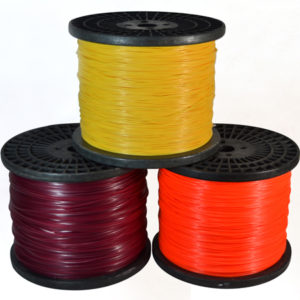 Spool-Twisted trimmer line