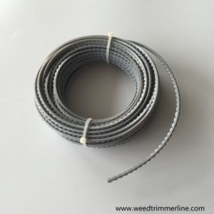 serrated trimmer line